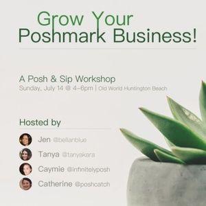Tomorrow! Southern Cali Posh and Sip Workshop